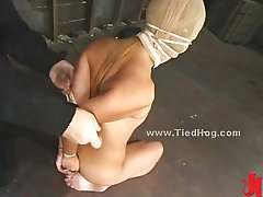 Apskretėlė yra susieta, kaip hog imobilizuoti