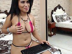 Vroča Latina dekle V Bikini