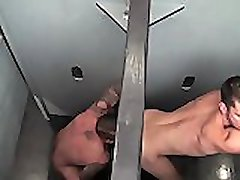 Big Dick Gloryhole med Rocco Steele
