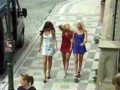 3 tsjechische Babes en 1 Lucky Guy