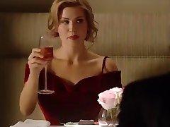 الأحمر ترتدي فتاة الساخنة - درب الغرفة