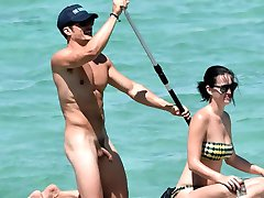 Orlando Bloom Nuogas Penis, Atostogos su Katy Perry