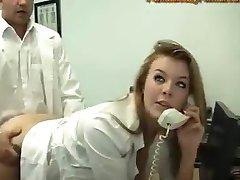 hete secretaresse