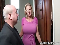 Fantastiline kuum suur suur rind blonde slut part3