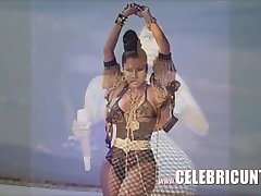 Celeb Γυμνό Nicki Minaj Διέρρευσε Ζουμερά Βυζιά Της Και Τα Χύσια Selfie