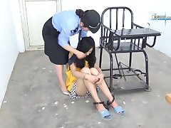 chinese girl at jail