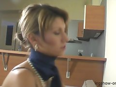 Amanda Vamps Analyseras Med Nylon