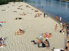 Kijev Nudistična plaža pregled