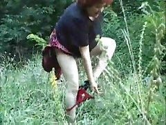 Močiutė gamtoje