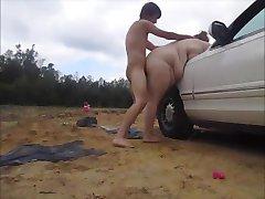 وجود مشكلة في السيارة,غريب مفيدة fixs سيارتي الجنس creampie