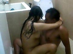 इंडोनेशिया-ganas दान झूठा permainan seks istri