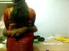 Chubby Tamil Teyze ile romantik Dharmapuri Sivaraj