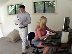 blond sekretär