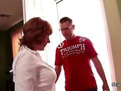 57 yr Vecmāmiņa get fucked ar 19yr vecs Zēns