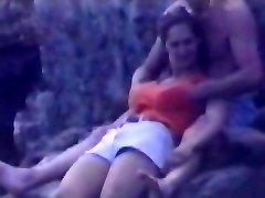 Vaļsirdīgs beach kameru filmēti krāšņs vixen
