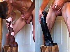 Stallion Penis ve Lanet Büyük Horoz At Extreme Anal