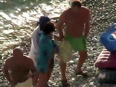 nudistų šnipinėjo paplūdimio
