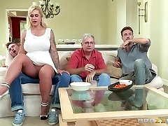 Brazzers - My stepmother bought me a stripper