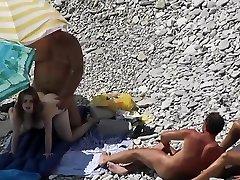 stranden sex Voyeur 4 DR3