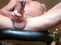 Ältere Vati Cumming Hot