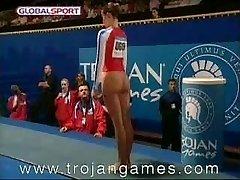 Juokinga Sekso Gimnastikos Vault