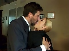 office slyna crystal rae anal stockings