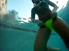 underwater rosebud