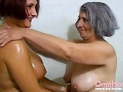 omahotel močiutė ir subrendęs žaisti kartu