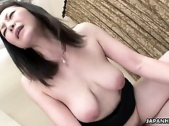 Asian wife got her hairy vag drilled after a 69