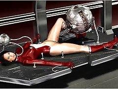 3D Välismaalase Robotid vs Libahuntide!