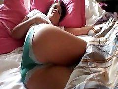 Sexy amateur Chloe Pankade esimese aeg anal kuigi filmitud