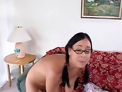 Nerdy Gal Takes Hard Boning From Ugly Stud 420