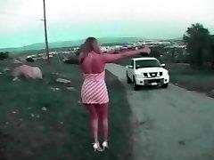 de auto rit naar pik rijden