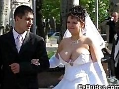 Real Brides Show Their Cootchies!