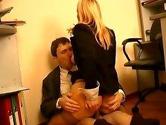 Baas en secretaresse