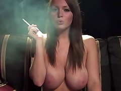 Best tits ever smoking fetish