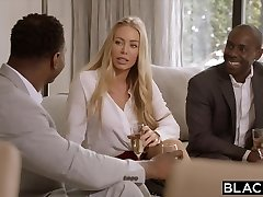 BLACKED Nicole Aniston Is Dual Teamed By Big Black Cock On Her Day Off