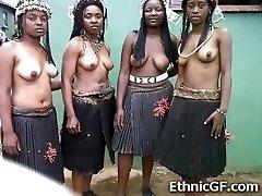 Tõeline Aafrika Teen GFs!