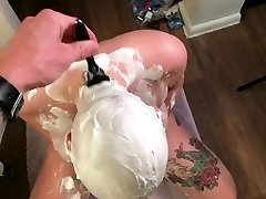 POV shaving sneak tip video