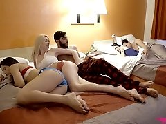 Tempting Gia Love and lecherous Abella Danger are plumbed by one horny dude