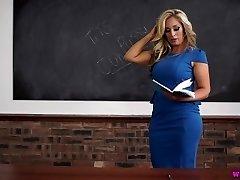 Kellie O učiteľ milf