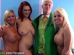 St. Patrick ' s pornotähti orgia osapuoli! Vol.1