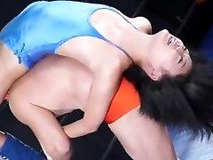 Japanese mingled wrestling ryona