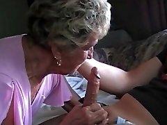 Blond Amatöör Vanaema