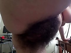 hairy bush ann cuck tidy up