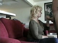 Older Neighbor Gives  Sucky-sucky on hidden cam
