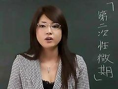 Erika Sato - Moteris Mokytojas Nakadashi Analinis Ataka