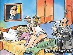 Smieklīgi porno komiksu joki