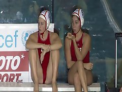 Spanish female waterpolo team