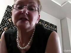 Granny Deep Stinkface Pussy-smothering Session!